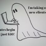 I'm Taking on New Ghostwriting Clients!