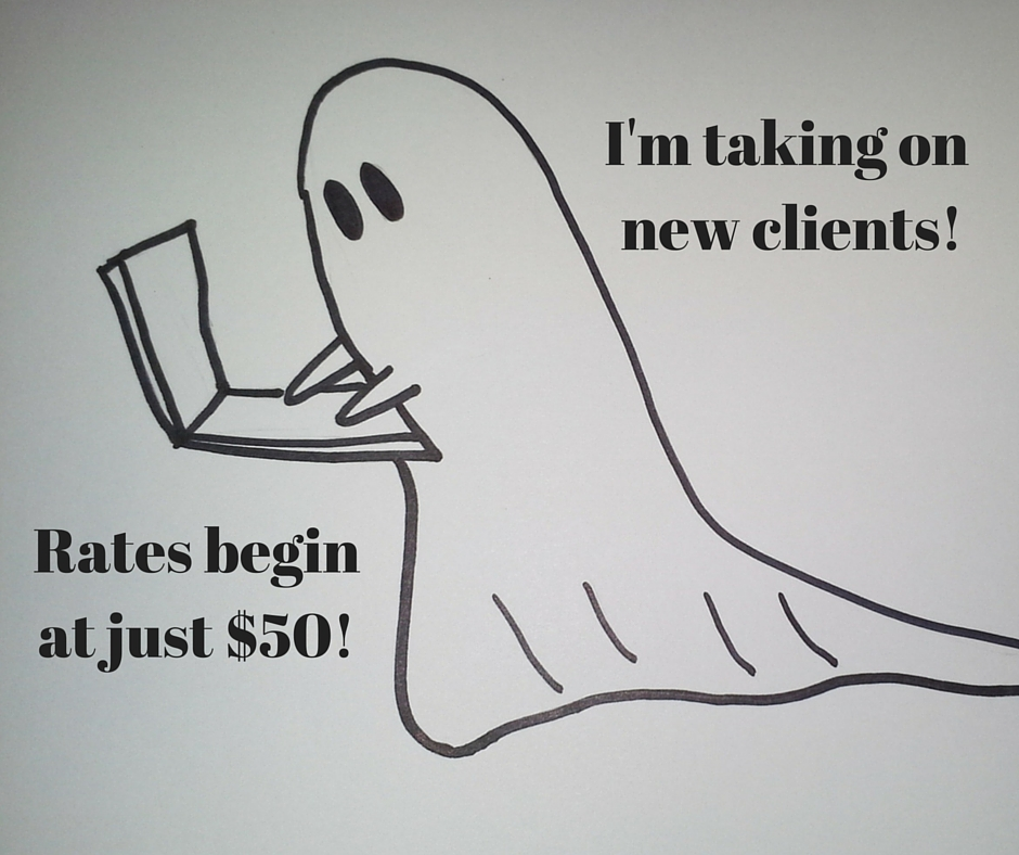 I'm taking on new clients