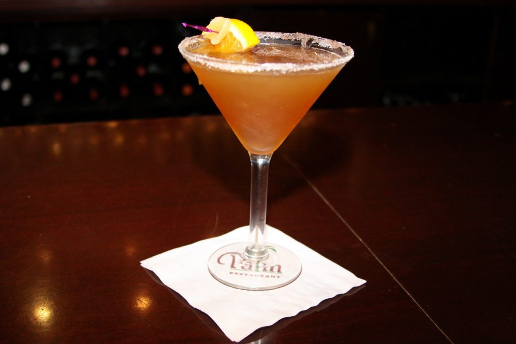 Today's drink is a spin on the traditional sidecar. This Thanksgiving Sidecar blends nutmeg, brown sugar, apricot brandy and more. Learn how to make it here