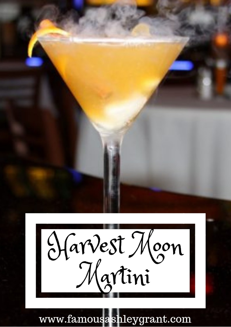 Bourbon, citrus and vodka - oh my! This Harvest Moon Martini might just have you howling!