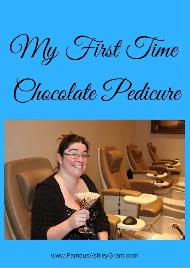 Have you every wondered what a chocolate pedicure would feel like? This post is about my first time having one.