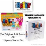 Brik Buster OR 119 piece Starter Set Giveaway – Winner's Choice Thru 11/6/17