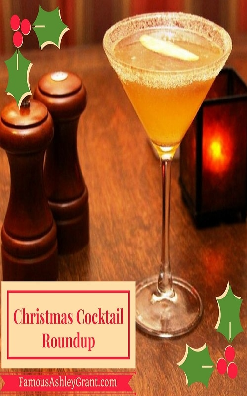 I love a yummy cocktail at Christmas time, and this post features a round up of some of the best ones you can make!