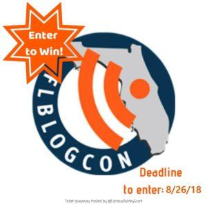 Enter to Win-FLBlogCon Tickets