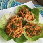 Quick Meal Idea – Buffalo Chicken Lettuce Wraps