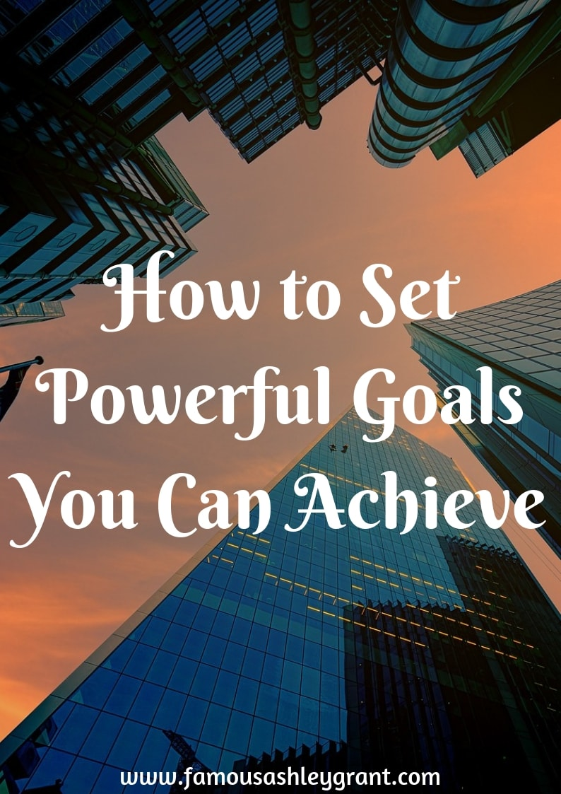 If you're like me, you likely created a bunch of goals that you'd like to accomplish this year. But, are you setting goals in a way that you can actually achieve them? Or are you setting yourself up for failure? Click through the pin to learn how to set achievable goals.
