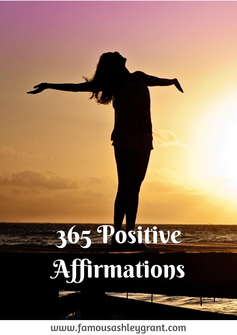 Sometimes you need a good pick me up every now and again. Luckily, I've got a list of 365 positive affirmations to keep you positive all year long!