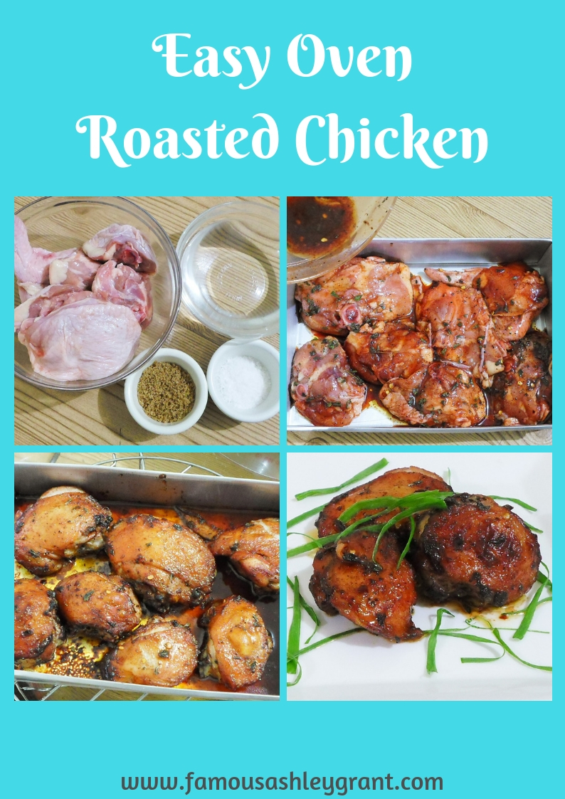 Looking for a quick and easy over roasted chicken recipe that is packed with flavor? You've come to the right place!