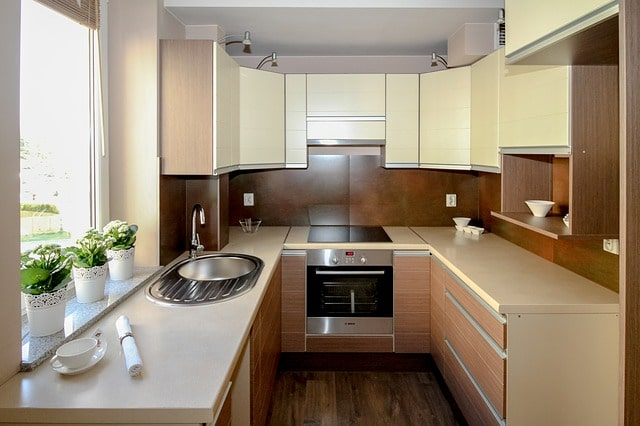 When you have limited space in the kitchen, it's hard to consider making it functional and attractive. However, with a little planning, you can might be able to implement both.