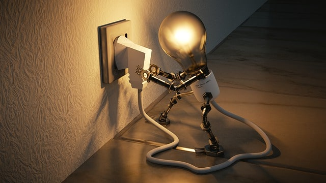 Hiring An Electrician-Light Bulb Plugging Itself In
