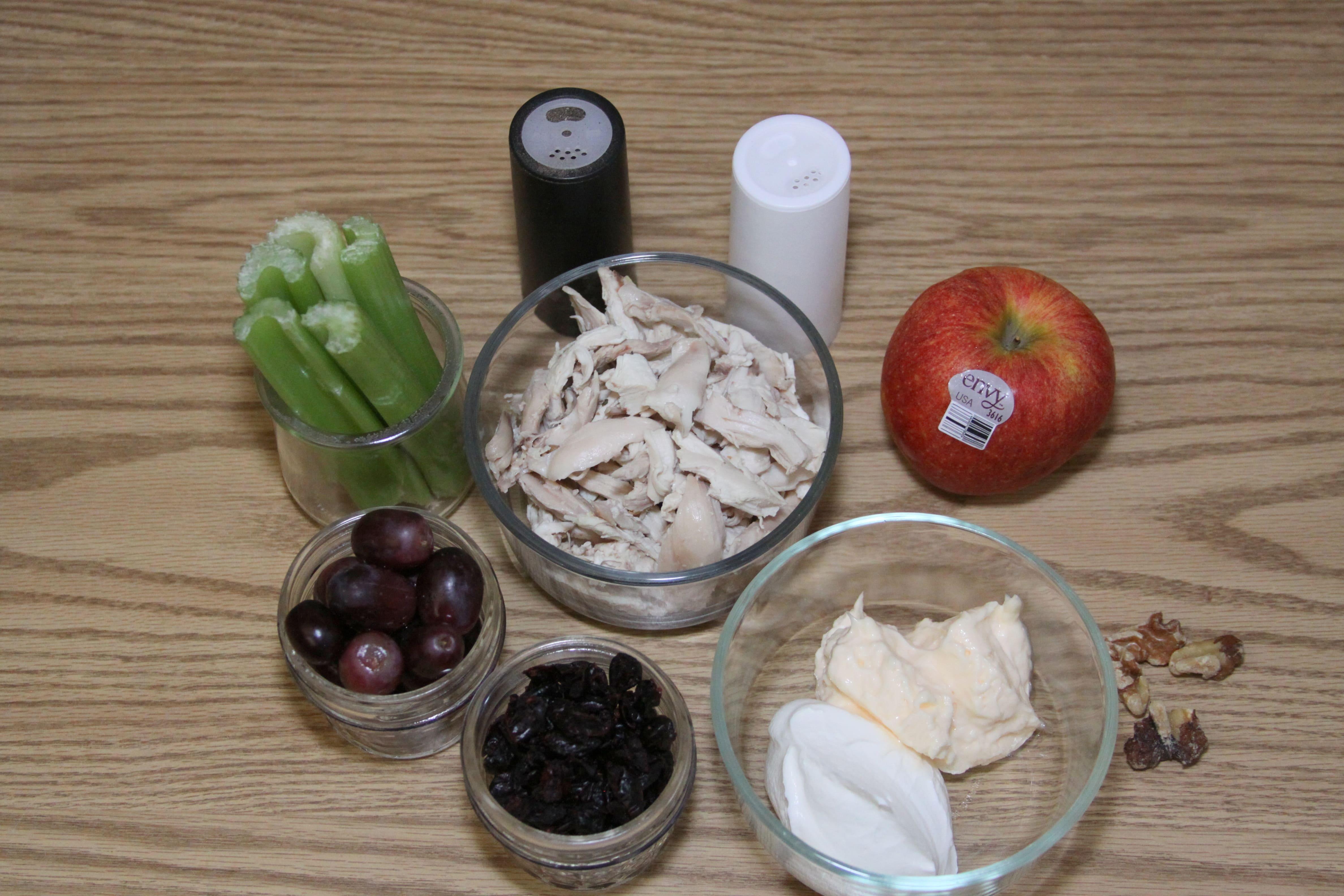 Cran Apple Chicken Salad Ingredients