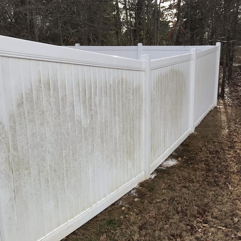 Residential Pressure Washing Fence